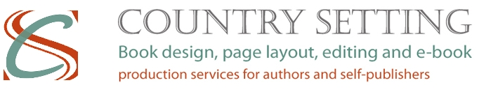 Book and eBooks design services for publishers and authors